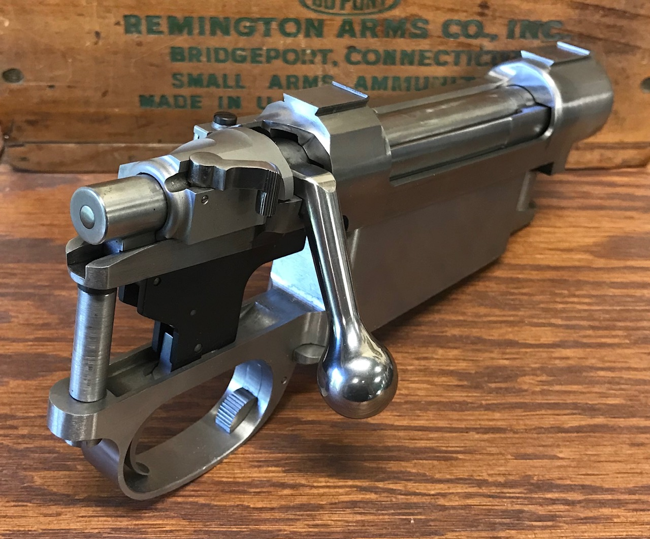 Prechtl Double Square Bridge Magnum Action - .375 H&H