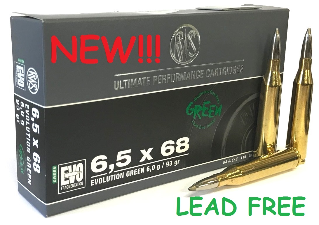 RWS 6,5x68 93 Grain EVO Green - 2318867